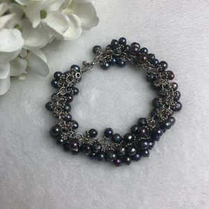Jewelry - 🌸JUST IN🌸Gray Cultured Pearl Bracelet